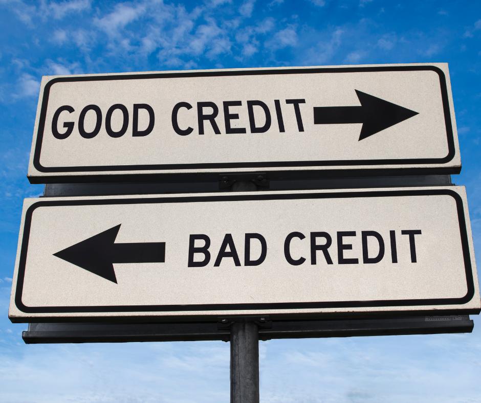 Good Credit vs Bad Credit